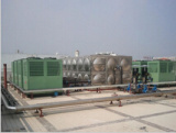 O aquecimento refrigerando centraliza o condicionador de ar da fonte
