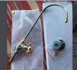 Faucet dourado/de prata do Goose-Neck para o purificador doméstico da água do RO