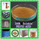 Pó do ácido de Leonardite Fulvic