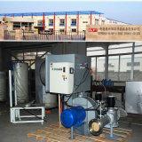 Industrieller Erdgas-Brenner im Dampfkessel und in anderer Heizung