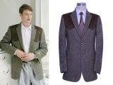 Les hommes la laine de costume de loisirs (PL006)