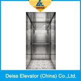 Ascenseur résidentiel de passager de maison de villa d'entraînement de traction de Vvvf