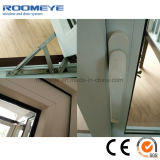 Stoffa per tendine triplice del PVC di bianco del comitato di Roomeye 3/Windows appeso/lato provvisto di cardini laterale