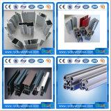 Profil en aluminium d'extrusion de construction de prix bas en gros de matériaux