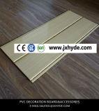Motif de l'estampage à chaud en bois Panneau PVC PVC Panneau au plafond et panneau mural (Rn-175)