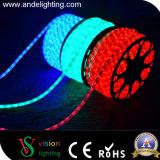 Indicatori luminosi esterni del collegare di corda di verde LED della decorazione