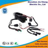 Harnais de fil de qualité pour l'ordinateur avec le cable connecteur