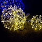 Christmas를 위한 LED Outdoor Waterproof Warm White Decorative Christmas Ball Light