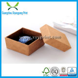 Дешевая роскошная изготовленный на заказ бумажная коробка хранения кольца ювелирных изделий