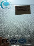 Clear Wanji Patterned Glass avec Ce, ISO (3-8mm)