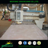 Buen recubrimiento de papel Grooved Plywoood de la calidad 2.2m m para el uso de la decoración