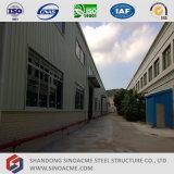 Atelier léger de structure métallique de bâti de coût bas
