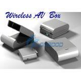 Boîte de dialogue AV Audio Vidéo sans fil émetteur et récepteur AV pour iPod pour l'iPad pour iPhone
