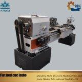 6개의 역 전기 공구 포스트 편평한 침대 CNC 선반 (CKNC6136A)