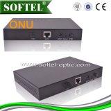 1*Gbps Pon Uplink, Faser-Optikontario des Unterseite-t 4*10/100Mbps Downlink-CATV