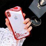 Het Mobiele Geval van de Telefoon TPU met het Plateren van het Frame van de Luxe voor iPhone7/8/8p/X