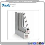 Profilo di alluminio sporto personalizzato dei portelli ricoperti polvere e Windows e parete divisoria