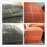 Alfombra de césped de goma de caucho exterior alfombras de protección de la Hierba