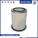 Filtro médio do cartucho da eficiência para o compressor de ar