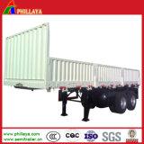 Remorque de service à plat neuve de cargaison avec des blocages de flanc et de torsion