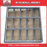 Soem-Aluminiumherstellungs-Produkte galvanisierte Rahmen-Heu-Zufuhr