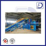 Machine horizontale manuelle de presse de paille