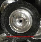 鋼鉄縁が付いているゴム製車輪350-7