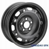Черный стальной обод колеса для легковых автомобилей (14X5)
