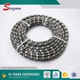 11.5mm 다이아몬드 철사는 대리석을%s 구슬을 보았다