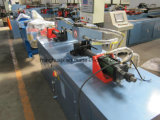 máquina de formación del tubo de alta calidad doble cabeza TM80X2h-3s