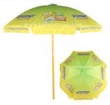 Parapluie de plage multi d'impression de couleur (OCT-BUAD10)