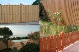 木製のプラスチック合成の屋外の塀(zk005)
