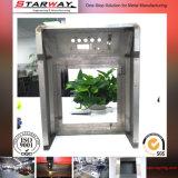 Fabricación de metal de hoja con el doblez para los dispositivos electrónicos