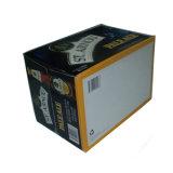 Изготовленные по переработке бумажных упаковочных материалов вино используйте флажки с логотипом