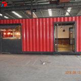 Modulares prefabricados móviles de 40 pies de la casa del contenedor de envío