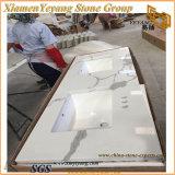 Comptoirs de quartz Calacatta pour la cuisine et salle de bains Vanity Tops