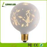G125 no es regulable Bombilla de luz LED decorativas GLOBO BLANCO CÁLIDO E26 2700K para unas vacaciones fiesta de Navidad