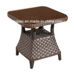 Outdoor /rotin / Jardin / Patio / Hôtel des meubles en rotin Table Chaise de Salon & Côté Set (HS 16291629cl& HS ET)