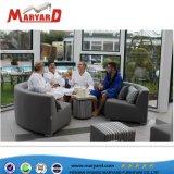 Nuovi sofà del caricamento del sistema del ristorante del tessuto di arrivo e tessuto di maglia per la presidenza esterna della mobilia