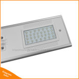 lámpara de calle solar integrada de 30W 40W 60W LED