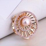 Ring-Perlen-Schal-Faltenbildung