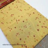 Tela de tapicería de la almohadilla del sofá de la materia textil del hogar del poliester del telar jacquar