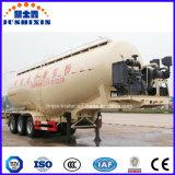 Reboque material do tanque do transporte do pó da baixa densidade