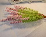 Flores artificiales decoración Rosa Rosa látex verdadero toque las flores de seda