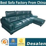 Nuovo sofà del cuoio genuino della mobilia della casa di prezzi all'ingrosso della fabbrica di arrivo (A79)