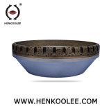 Mola abrasiva personalizzata alta qualità del ferro di formato per vetro