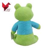 Promoção para crianças com brinquedos pequenos brinquedos de sapo de pelúcia personalizada