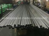 La buena calidad laminó 201 202 304 soldó el tubo de acero inoxidable