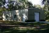 Estructura de acero del edificio prefabricado para el taller/el almacén