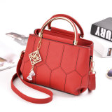 De Uitvoer van de Fabriek van het vasteland Dame Crossbody Bag PU Leather Handtas